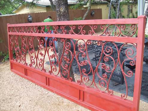 Evans Weaver Custom Gates