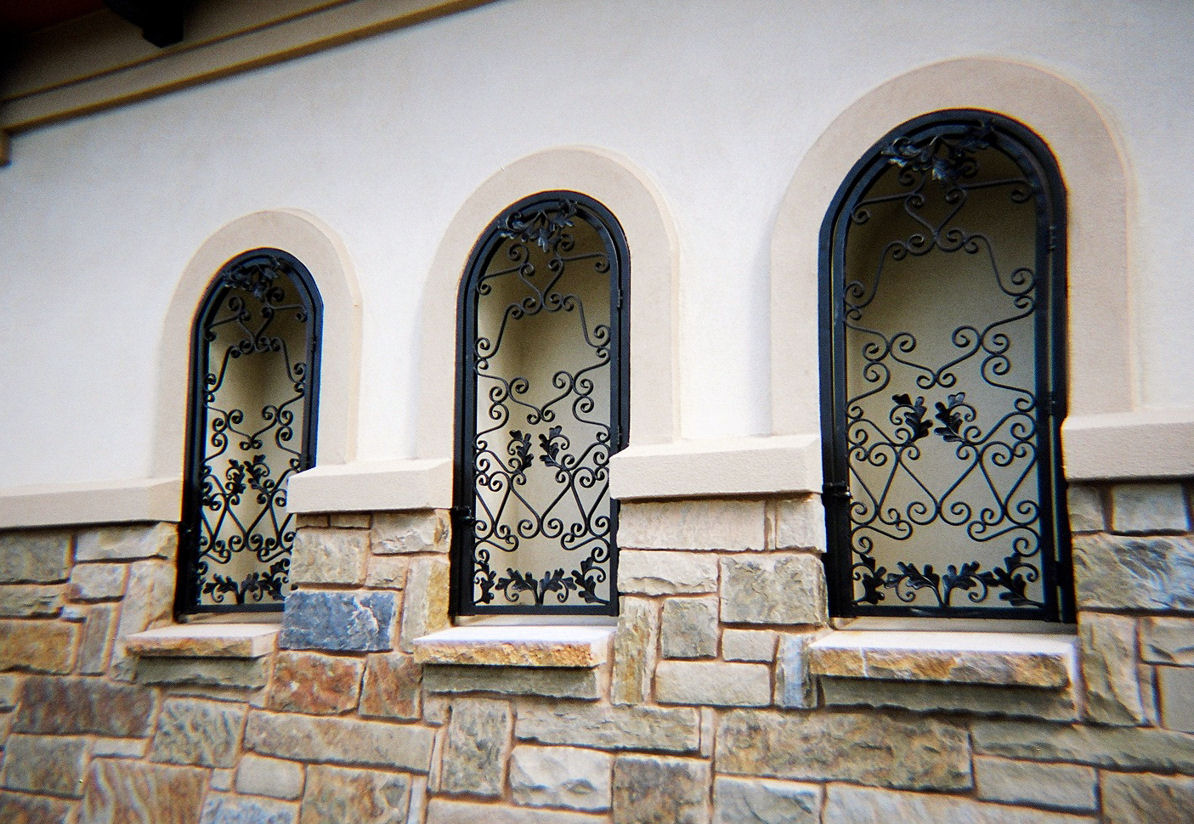 custom iron work - weaver creative - evans weaver