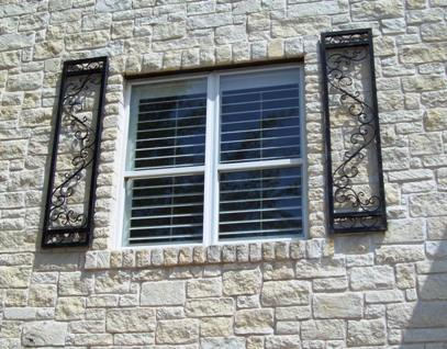 Custom Iron Shutters - Evans Weaver