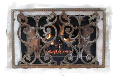 iron fireplace - mediterrania iron