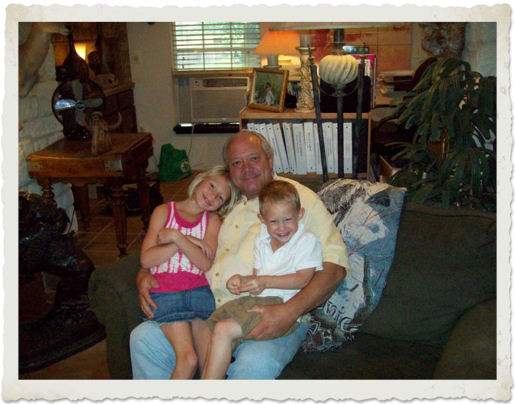 Grandpa Evans Weaver - Grandchildren