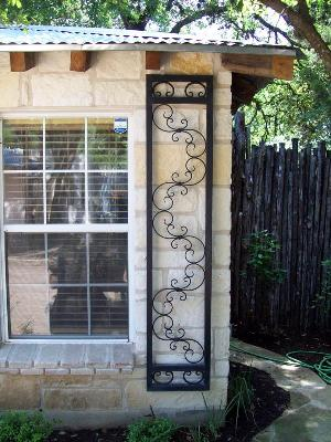 Evans Weaver - Wrought Iron Shutters