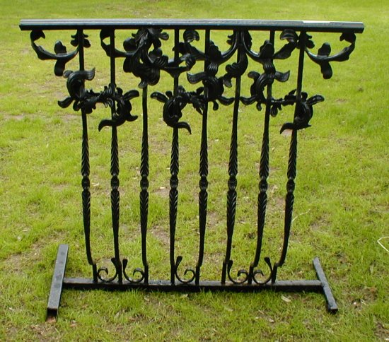 iron balcony railing - mediterrania iron