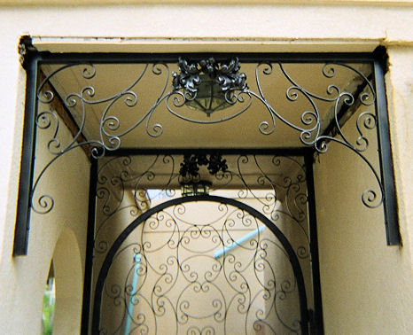 custom iron gate - weaver creative -evans weaver