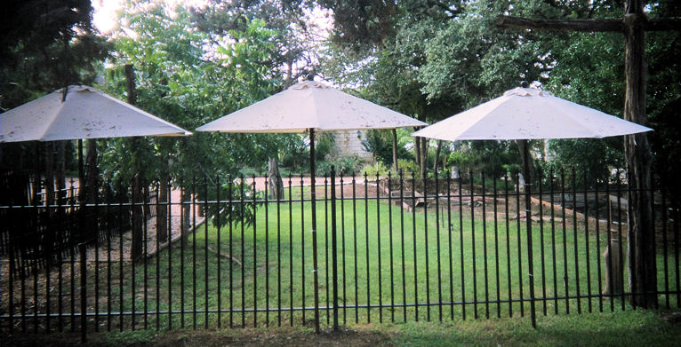 custom iron railing - weaver creative - evans weaver