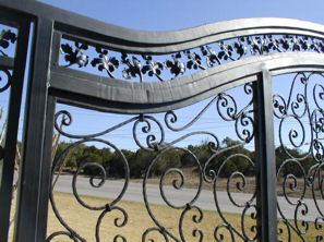 custom iron gate - mediterrania iron