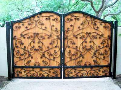 Evans Weaver - Iron Entrance Gate